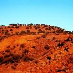 Australia - Mt. Narryer at sunset