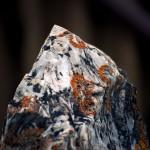 Yellowknife - Fossil Stromatolite peak with lichen